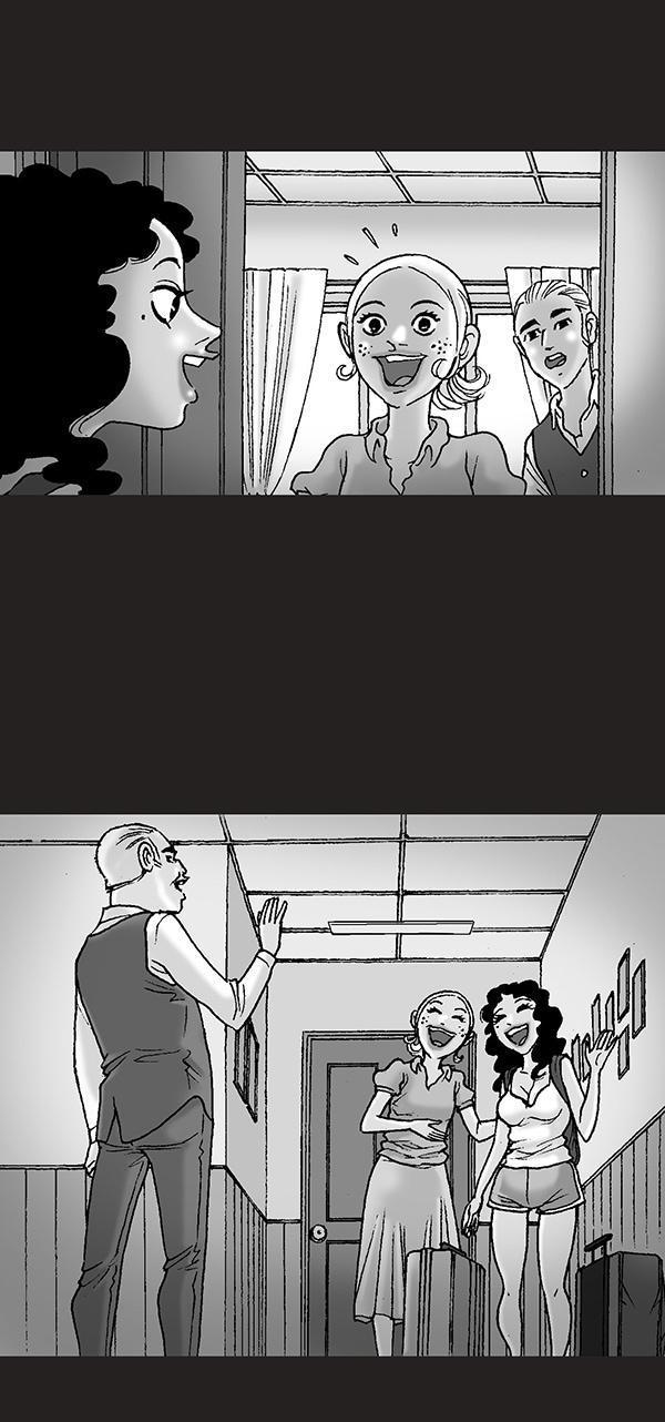 无声恐怖漫画:《妻子的闺蜜》