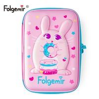 folgemir 跟我来 EVA大容量文具盒 15*22cm 福兔大款