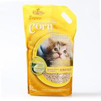 京东PLUS会员 : 洁客(Drymax)天然柠檬香味 植物结团条形猫砂 5L *2件 +凑单品