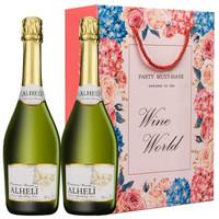 浪漫之花 原瓶甜白起泡礼盒2支+柯诺苏多娜美乐*3+长白山干红葡萄酒*2