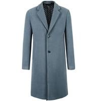 SELECTED 思莱德 418427551 男士羊绒中长毛呢大衣