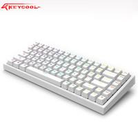 keycool 凯酷 KC84  三模机械键盘 RGB 红轴