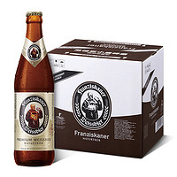 PLUS会员 : Franziskaner 教士 德国小麦白啤酒 450ml*12瓶 整箱装